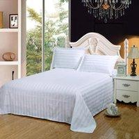 Set di biancheria da letto tessile tessile 100% lenzuola in cotone set 3 pezzi copertina + federa flat brief Brief El Stripe Bedcloth