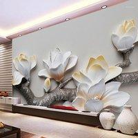 Fonds d'écran Drop Custom Po Europe Européenne Scène Architectural Scène Murale Chambre à coucher Mural 3D Stéréoscopique El Restaurant Wallpaper1