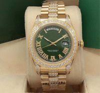 Reloj mecánico automático AAA + Calidad, tipo de registro, tamaño 41mm, diamante romano a mano, impermeable, zafiro de cristal resistente a los rasguños, la elección de la estrella de la moda
