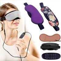 جديد التحكم في درجة الحرارة الحرارة البخار القطن العين قناع الجاف متعب ضغط USB منصات ساخنة العين الرعاية الساخنة سريعة النوم قناع العين