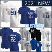 2020 뉴저지 50 Mookie Betts Jersey Joe Kelly 22 Clayton Kershaw 사용자 정의 코디 벨리지 Joc Pederson Baseball A.J. Pollock Justin Turner.