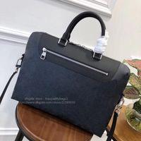2020 NOUVEAU Porte-documents de mode vendus à chaud véritable cuir de qualité supérieure hommes luxuriers designers sacs sac de sacs de sacs de sacs classiques sacs à main livraison gratuite