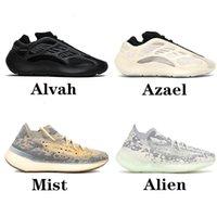 700 Mnvn Kanye West Running Shoes 700 V3 Alvah Azael 3M 380 ضباب أحذية رياضية رجالية 380 يورو 36-46