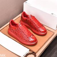 새로운 도착 레드 캐주얼 신발 에이스 패션 Womens Desinger 최고 품질의 남성 신발 Dropship 최고의 공장 무료 선물