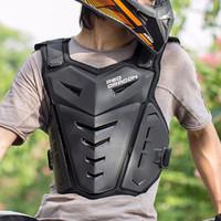 Motorrad Rüstungsjacke Erwachsene Brust Back Protector Moto Guard Racing Body Motocross Schutzausrüstung