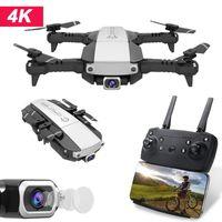 Lansenxi-nvo faltbare mini drohne fundamental 4k hd kamera gps helle hold mode fpv rc quadcopter kameras dronen spielzeug für kinder