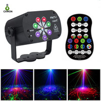 Laser Light 120 Patters USB Rechargeable RGB UV Laser Stage ...