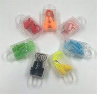 Nuovi tappi per le orecchie di comfort del comfort della scatola di salute Riduzione del rumore Tappi per le orecchie molle del silicone del silicone