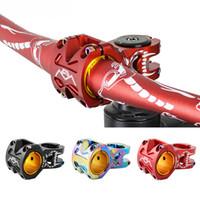 "MTB Bicicleta Haste Alumínio Liga 1-1 / 8 ""50mm BMX Road Mountain Bicycle HandleBar 28,6 * 31.8 / 35mm"