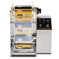 Máquina de sellado de alimentos de vacío Paquete de sellador de caja rápida Mantenga fresco 220V / 1.5KW Totalmente automático automático para llevar de comida para llevar