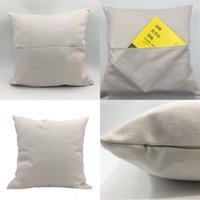 Süblimasyon Boş Yastık Kılıfı Kitap Cep Yastık Keten Yastık Kapak 30 * 30 40 * 40 cm Ev Dekor Tekstil Sıcak Satış 6 2YJ M2