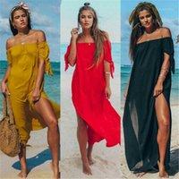 Sarongs verão mulheres sexy swimsuit lace offshoulder biquíni capa de banho vestido de praia pareo túnica ups capes1