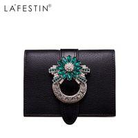 HBP Lafestin Marke Frauen Brieftasche Luxus Designer Diamanten Kurze Geldbörse Brieftasche Weibliche Kartenhalter Geldbörsen Münz Brieftaschen Cartesira Feminina