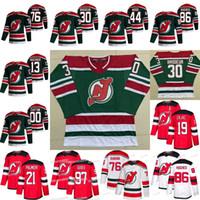 New Jersey Devils 2021 Retro Retro Jerseys Jack Hughes Nico Hischier P.K.Subban Kyle Palmieri Cory Schneider Severson Nikita Gusev Brodeur