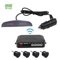 Auto Rückansicht Kameras Parksensoren Wireless 12V Auto LED LCD Digitalanzeige Sensor1