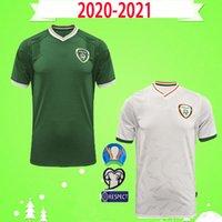 새로운 20 21 아일랜드 축구 유니폼 2020 2021 홈 멀리 아일랜드 공화국 국가 대표팀 태국 품질 유니폼 키트 키트 축구 셔츠