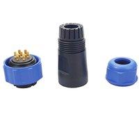 Multiple series GM13 17 21 Series IP68 7P 20 sets Waterproof Connector Solder Or Screw waterproof electrical Male and Female