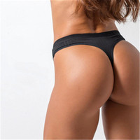 threaded Panties Fashion Trend Sexy Transparent Cozy Thong U...