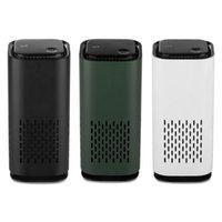 Purificateurs d'air Portable Mini Purificateur de voiture Purificateur USB Générateur de l'ion négatif négatif Personal Odeur Personal Odeur Éliminateur Assainisseur pour Bureau à domicile