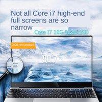 2020 Yeni Çekirdek Yüksek Dizüstü 15.6-inch Metal Ince Iş Ofisi Oyun Dizüstü Dizüstü Bilgisayarlar Oyun 16G 512 SSD1
