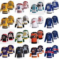 2020-21 Retro Retro Hockey Jersey Jonathan Quick Kevin Fiala Brendan Gallagher Anders Lee Mario Lemieux Jakub Voracek Brayden Point Jersey