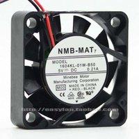 Fans Coolings Originele NMB 1604KL-01W-B50 4010 5 V 0.21A 4 cm Dual Bal Cooling Fan 40x40x10mm Cooler1