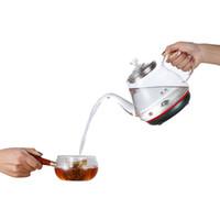 Automatische Sheung Shui-elektrischer Wasserkocher Kung Fu Tee Herd gepumpt Wasser Heben Topf Haushalt Kleiner Emaille Glas Einer Perlgrün DSD12D