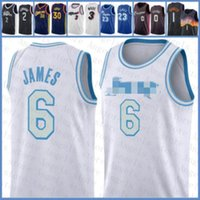 2020 2021 New Basketball Jersey LeBron 6 James Los AngelesLakersKobe24Bryant Devin 1 Booker Jamal 27 Murray 0 Lillard