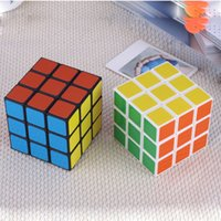 DHL Schnelle Intelligenz Spielzeug Cyclone Jungen Mini Finger 3x3 Geschwindigkeitswürfel Aufkleberloser Finger Magic Cube 3x3x3 Puzzles Spielzeug DHL 3-7 Tage Lieferung