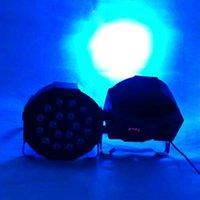 Sconto 18 W 18-LED RGB Auto e Controllo vocale Palcoscenico Light Light Black Top LED LED Nuove e PAR di alta qualità