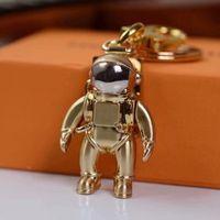 3color spaceman 키 체인 액세서리 패션 자동차 디자이너 키 체인 액세서리 남자와 여자 펜던트 상자 포장 키 체인