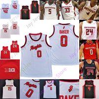Rutgers Scarlet Knights Jersey Jersey NCAA College Clifford Omoruyi Matrez Mathis Paul Mulcahy Mamadou Doucoure Mag Palmquist Reiber