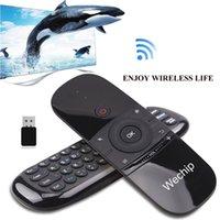 에어 리모트 키보드 마우스 Wechip 에어 리모트 2.4 GHz 무선 마우스 핸드 헬드 터치 패드 컨트롤러 TV 박스 미니 PC (W1 에어 마우스)