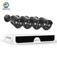 مراقبة الفيديو H.265 8CH 4MP poe الأمن كاميرا نظام كيت فيديو كاميرا IP IR في الهواء الطلق للماء CCTV NVR Set1