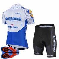 2020 Yeni Takım Hızlı Adım Bisiklet Jersey Önlüğü Şort Takım Elbise Erkekler Yaz Nefes Bisiklet Kıyafetler Yol Bisikleti Spor Ropa Ciclismo Y20072802