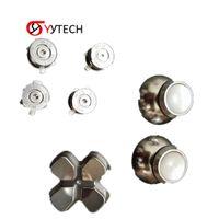 Syytech Envío gratis de alta calidad 7 en 1 conjunto completo de botones de reemplazo del kit de botón de metal para piezas de accesorios PS4