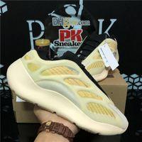 Top Quality Srphym Arzareth Kanye West 700 V3 Hommes Échange Chaussures de course Azael Alvah Eremiel Eremiel Mousse Triple Black Homme Sports Sports Sports Sports