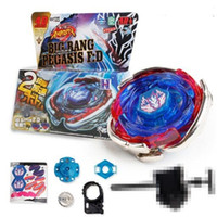 Bayblade WBBA BB105 Big Bang Pegasis Blauer Flügel Schhot Spinning Top Metall Fusion 4D BB105 L Drago Gold Spining 201216