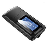 USB Dongle Bluetooth 5.0 Audio-Empfänger-Sender mit LCD-Display 2in1 Mini 3.5mm Jack AUX USB Wireless Adapter für TV-Auto PC1