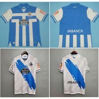 أعلى 20 21 DePortivo de la Coruna Soccer Jerseys Mollejo Football Shirt 2020 2021 م. سابين جيرسي سانتوس مايلوت دي