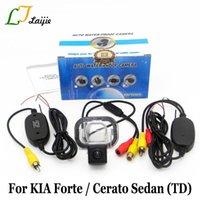 Auto Rückansicht Kameras Parking Sensoren für KIA Forte Cerato Sedan TD 2009 ~ Gegenwart / HD Autokamera RCA AUX-Schnittstelle Wireless Reverse