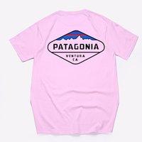 Fashion di alta qualità Patagonia S - 3XL Tee da Designer Brand Summer Top Manica corta Tshirt TSHIRS TOP TOP POLO SHIRTS