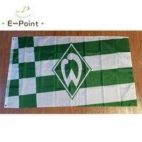 Germania Sv Werder Bremen Flag 3 * 5ft (90 cm * 150 cm) Bandiera poliestere Banner decorazione volante casa giardino bandiera regali festivi