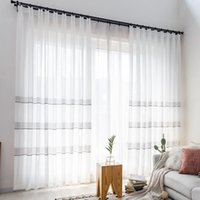 Cortina cortina cortinas de jacquard sólido para sala de estar quarto de tule macio e janela de cozinha personalizada