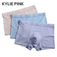 Unterhose Kylie Pink Herren Unterwäsche Boxer Hohe Qualität Modal Cuecas Männer Boxer Boxershorts Elastische Taille Männliche Höschen Calzoncillos1