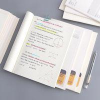 A5 B5 Basit Stil Dizüstü Günlüğü Kitap Hattı Sayfaları Yeni Memo Pad Izgara Dizüstü Kırtasiye Not Defteri Ofis Aksesuarları Okul Kaynağı