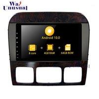 Wanusual Android 10.0 Автомобильный GPS-навигатор для S W220 1998 1999 2000 2001 2002 2003 2004 2005 Автомобильные радиостанции Media1