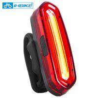 Inbike Bike Light Bicycle Bikeight Bike Accessories Bisiklet Aksesuar Impermeable Riding Light LED LED USB CARGABLE MTB BICICLE Y200920