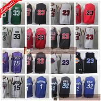 최고 품질의 청소년 소년 망 레트로 페니 농구 1 HardAway 15 카터 유니폼 키즈 도매 저렴한 농구 유니폼