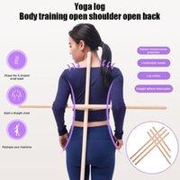 Hohe Haltungskorrektur Rückseite Schulterstütze Korrekte Klammerstange Yoga Sticks Werkzeug dauerhaft dog881